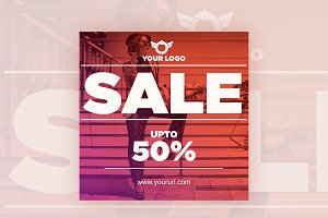 50% Sale Instagram Banner