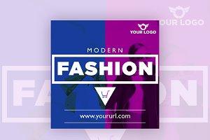 Modern Fashion Instagram Banner