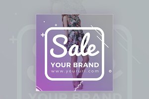 Sale Your Band Banner Design