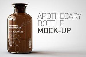Apothecary Bottle Mock-Up