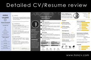 CV/Resume Review by HR professionals