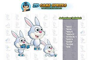Bunny 2D Game sprites
