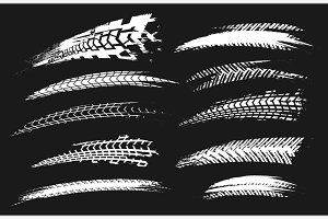 Tire Tracks Elements-03