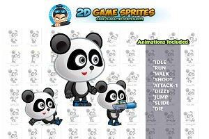 Panda 2D Game Sprites