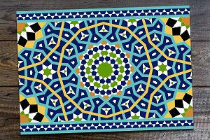 Arabic Seamless Border