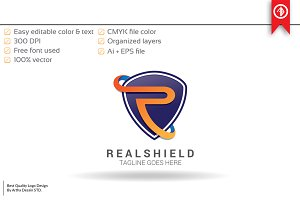 Shield Letter R - Logo Template
