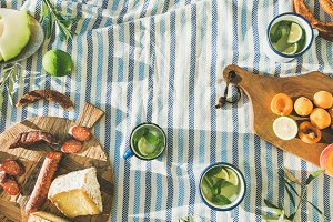 Summer picnic set