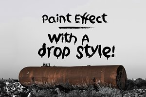 Griphite - 4 Paint Brush Fonts
