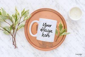 Mug styled stock mockup