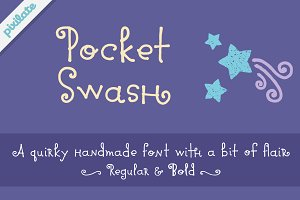 Pocket Swash Font