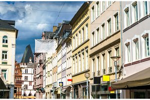 Historic buildings in Trier, Germany