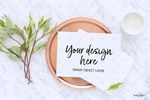Card styled stock photography