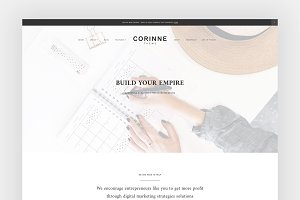 Corinne - A Theme for entrepreneurs