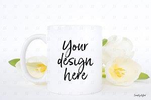 Coffee mug styled stock mockup