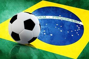 Brasil soccer flag