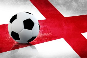 England Soccer flag