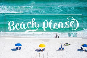 Beach Please Vintage 50% off