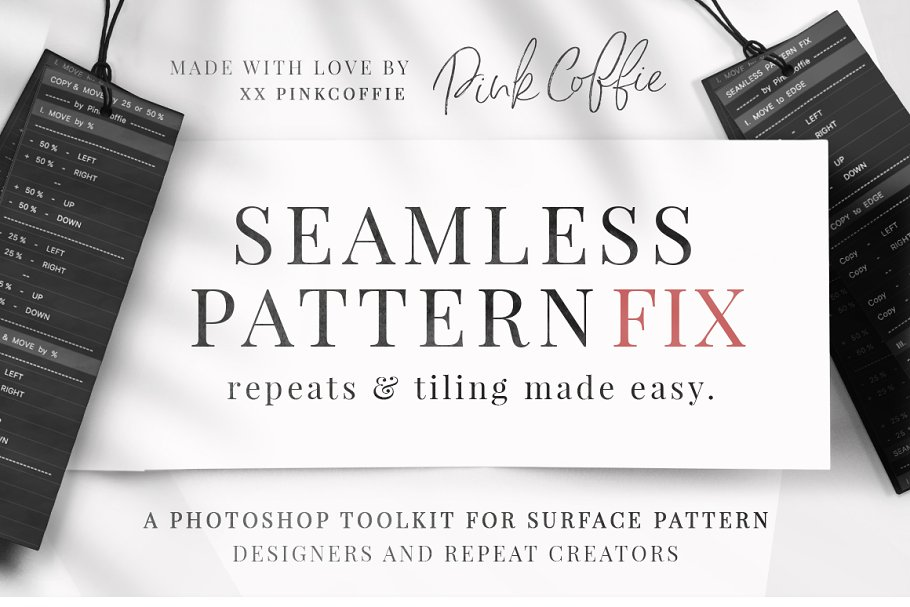 SPF - Seamless Patterns Made Easy! ~ Photoshop Add-Ons ~ Creative Market