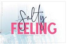 Salty Feeling font duo