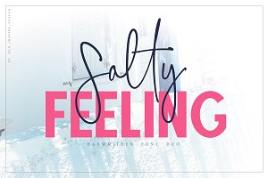 Salty Feeling font duo