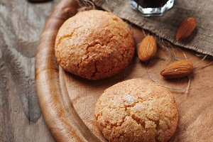 Italian cookie with almond
