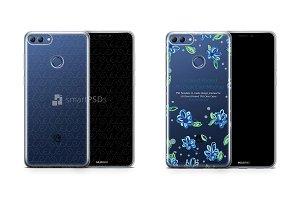 Huawei Y9 2018 UV TPU Clear Case