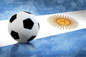 Argentina Soccer flag