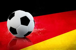Germany Soccer flag