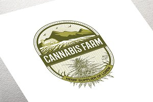 Cannabis Farm Logo