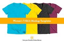 Women's T-Shirt Mockups (AA)
