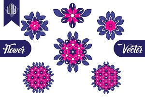 Flowers Ornament Vector