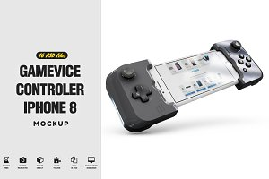 Gamevice Controler iPhone 8 vol2