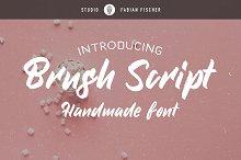 Brush Script - Handmade font