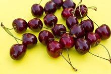 ripe fresh cherry