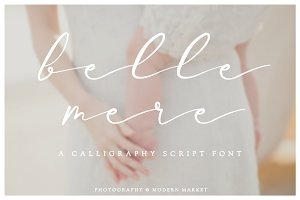Belle Mere Script Font
