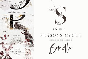 Seasons Cycle. 16 in 1 Bundle!