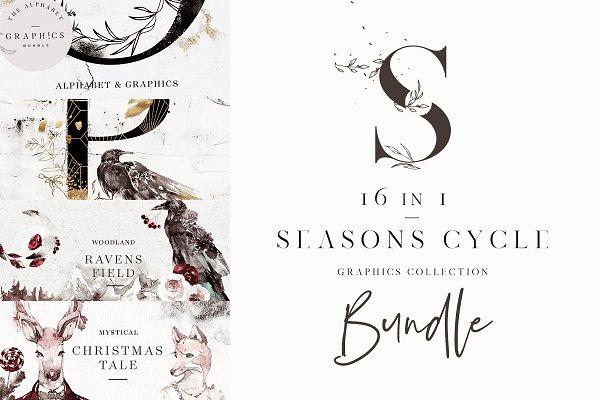 Seasons Cycle. 16 in 1 Bundle!
