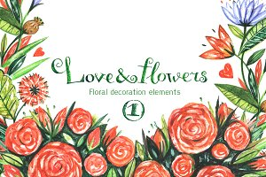 Love & flowers 1