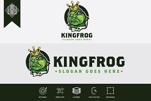 King Frog Logo