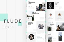 FLUDE Powerpoint Template by  in Presentations