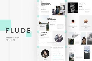 FLUDE Powerpoint Template