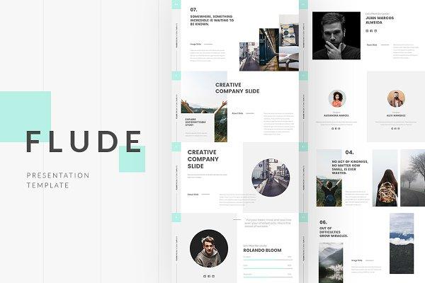 Presentation Templates: MasterSlides - FLUDE Powerpoint Template