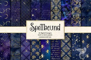 Spellbound Digital Paper