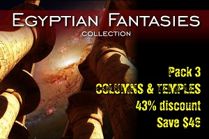 Egyptian Fantasies - Pack 3