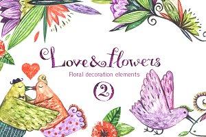 Love & flowers 2