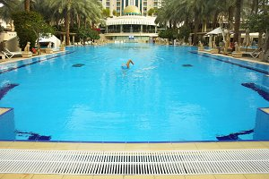 Pool of hotel