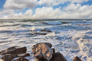 Storm in the Mediterrane