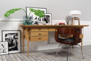 Bureau 1406 furniture set