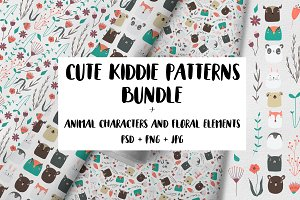 Cute Kiddie Pattern Bundle