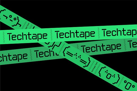 TT Techtape Font